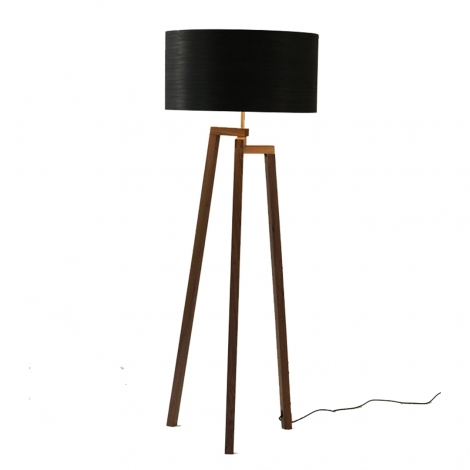 RWLP0029 Circulo Ebano Negro Pedestal Nogal 1080